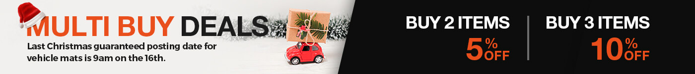 Multi-buy Car Mat Deals